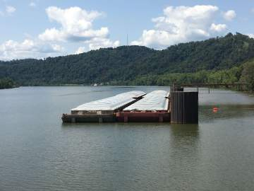 marine barge industrial cleaning services